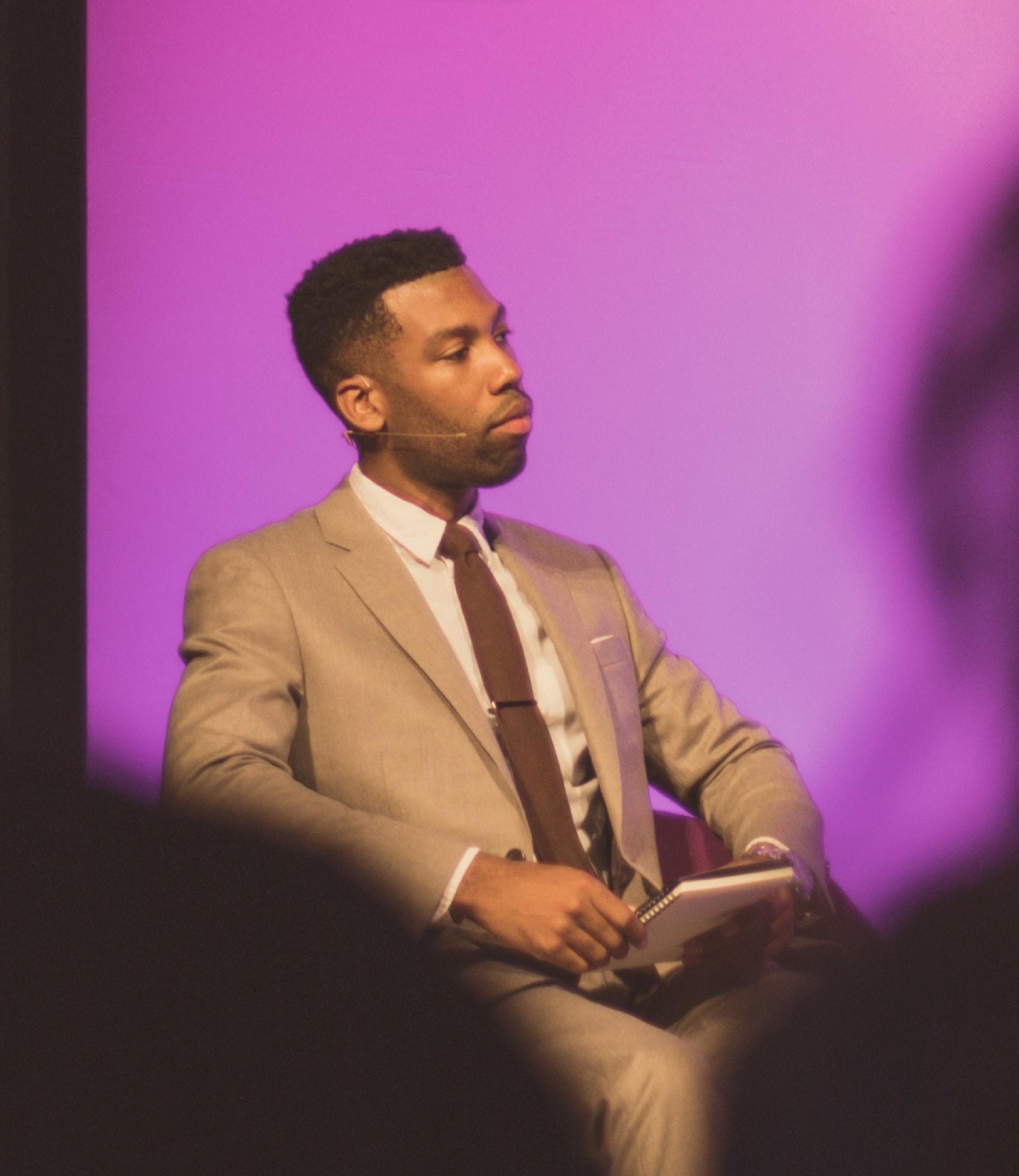 Photo d'une conférence